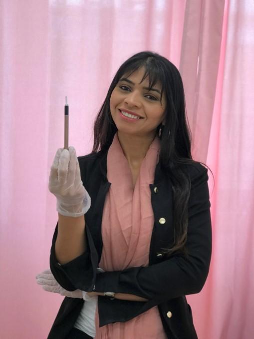 Lene Silva, Microblading